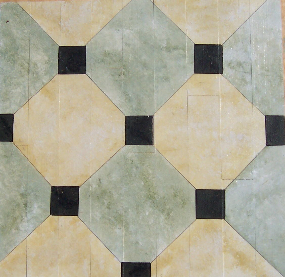 Geometric Marble Floor : Mather smith designs faux flooring decorative